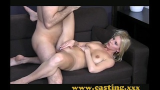Casting - Her first big cock