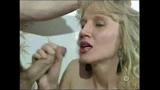 mature,blonde,stockings,anal,spoons