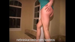 College Party Girls Naked at MTV Cribs House Part 2
