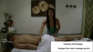 Massage with happy ending in asian massage parlor