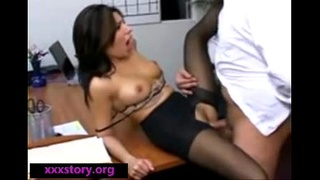 Boss Fucked Secretary On Office
