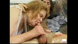 Granny Gets Some Raunchy Action