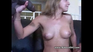 Poppy morgan with two huge BBC