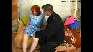 mature mother gets drilled