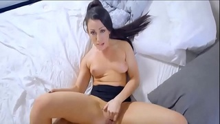 Step-Mom Wakes Son For Cock And Creampie