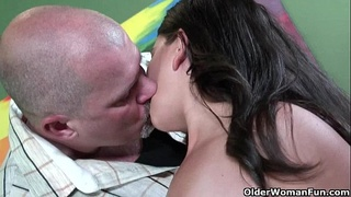 Anal sex for busty milf Alanna Ackerman