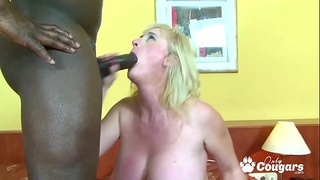 Cougar Monika Wipper Has Her Big White Booty Nailed By A BBC