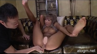 Uncensored! No Mosaic! Japanese Girl Orgasms From Anal Dildo! Very Hot! (#1 Part 3) (atogm.net)