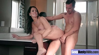 Sexy Hot Wife (Reagan Foxx) With Big Juggs Love Intercorse clip-21