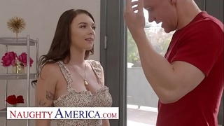 Naughty America - Gabbie Carter gets her way with her friend's brother