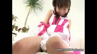Japanese Cute Girls Pussy and CreamPie