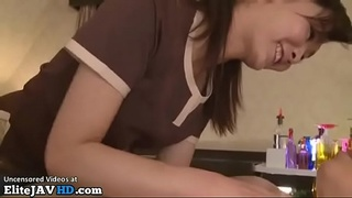 Japanese professional massage turns in sex