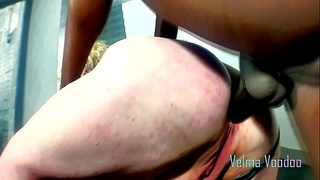 monster-cock,anal,whimpering,crying,belly,slut,interracial
