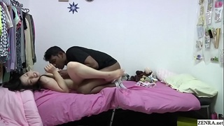 Japanese India interracial blowjob and sex with host sister