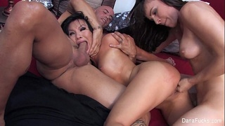 Dana DeArmond Threesome