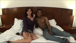 Sexy milf taking big black dick