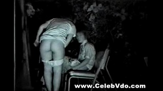 Two Asian Couples Having Sex at a park