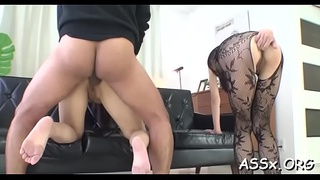 Sweet japanese is awfully juicy from tenacious fucking