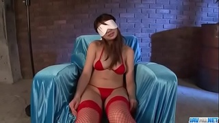 Dashing girl in red lingerie, Natsuki Shino, amazing toy porn - More at javhd.net