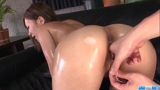 Aika, babe in black lingerie, amazes with her pussy - More at Javhd.net