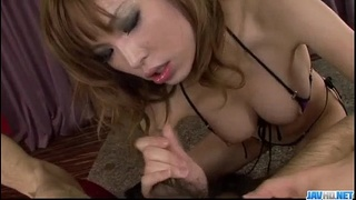 Perfect POV show along cock sucking Ai Sakura