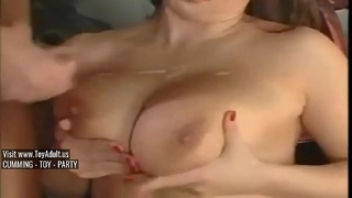 pussy,son,busty,blonde,mom,mature,swallow