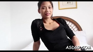 Rough sex for asian pussy
