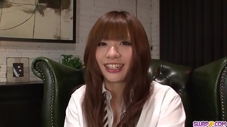 Teen Mami Yuuki jizzed on face after serious blowjob - More at Slurpjp.com